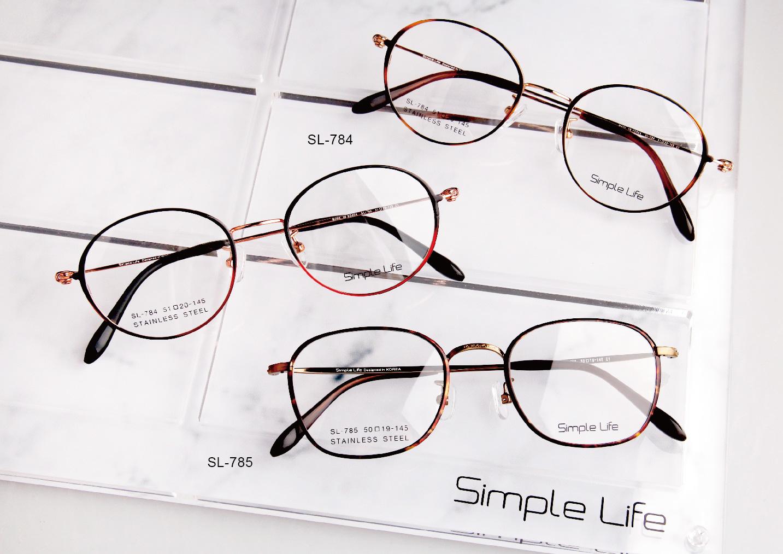 【SIMPLE LIFE 簡單生活】2021 韓製不銹鋼~台灣眼鏡展 率先上鏡